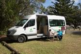 Obytný vůz pro 2 osoby - kuchyňka, WC, sprcha - Nový Zéland