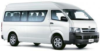 Minibus - mikrobus, půjčovna aut, Nový Zéland