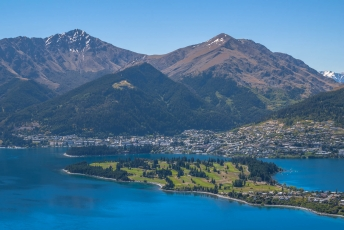 Queenstown, studium angličtiny, Nový Zéland